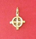 Pendentif Roue Celte petit modèle bronze