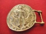 Boucle de ceinture St Louis bronze