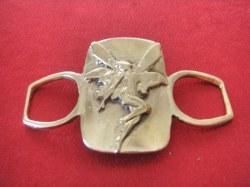 Boucle de ceinture Fée bronze
