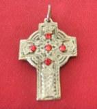 Pendentif Croix Celte bronze