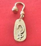 Porte-clés Dentiste bronze