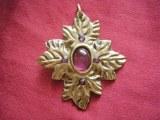 Péctoral médiéval petit modèle bronze