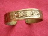 Bracelet Cartouche Egyptien bronze