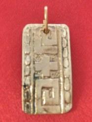 Pendentif Greco-romain grand modèle bronze