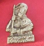 St Jacques de Compostelle bronze