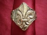 Bracelet Fleur de Lys bronze