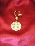 Porte-clés médaillon Cathare bronze