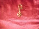 Porte-clés pendentif Cathare bronze