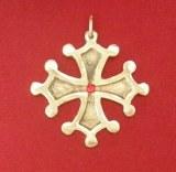Croix Occitane grand modèle bronze