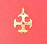 Pendentif Cathare petit modèle bronze