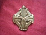 Pendentif médaillon Celte grand modèle bronze